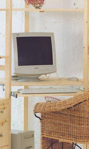 uittrekblad voor toetsenbord