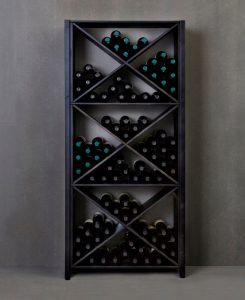 Lundia wijnrek zwart