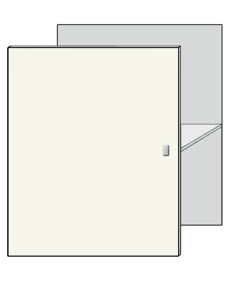 deur lak/houtprint