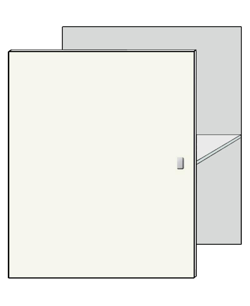 deur lak/houtprint Concept Meubel