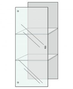 deur volglas