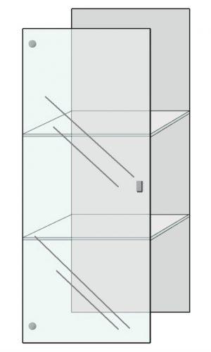 deur volglas Concept Meubel