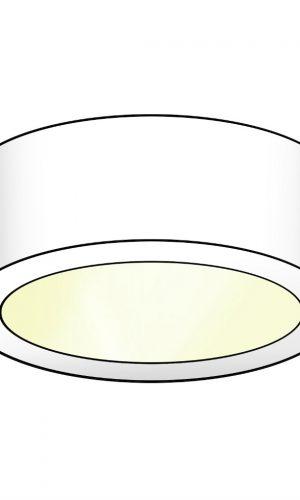 LED spot voor onderbouw