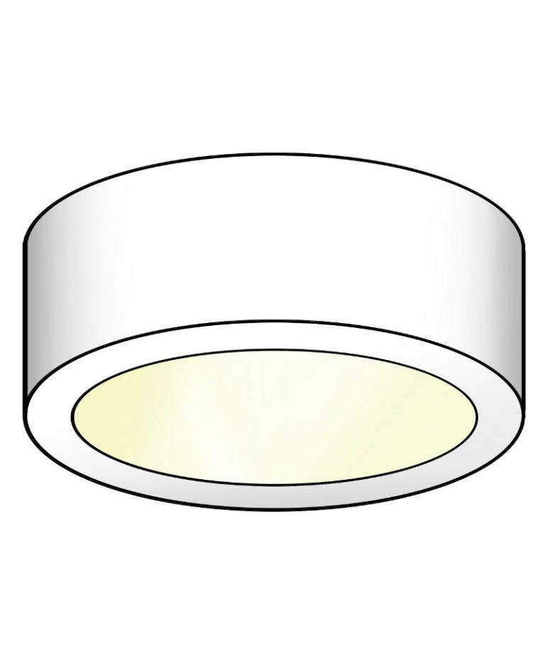 LED spot voor onderbouw B17