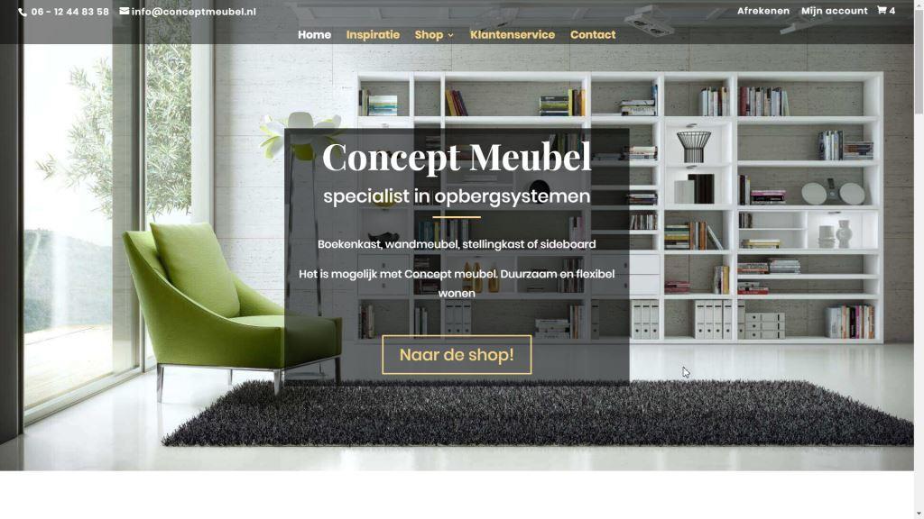 Lundia Open Boekenkast.Concept Meubel Voor Losse Onderdelen Uit Het Lundia En Fif Assortiment