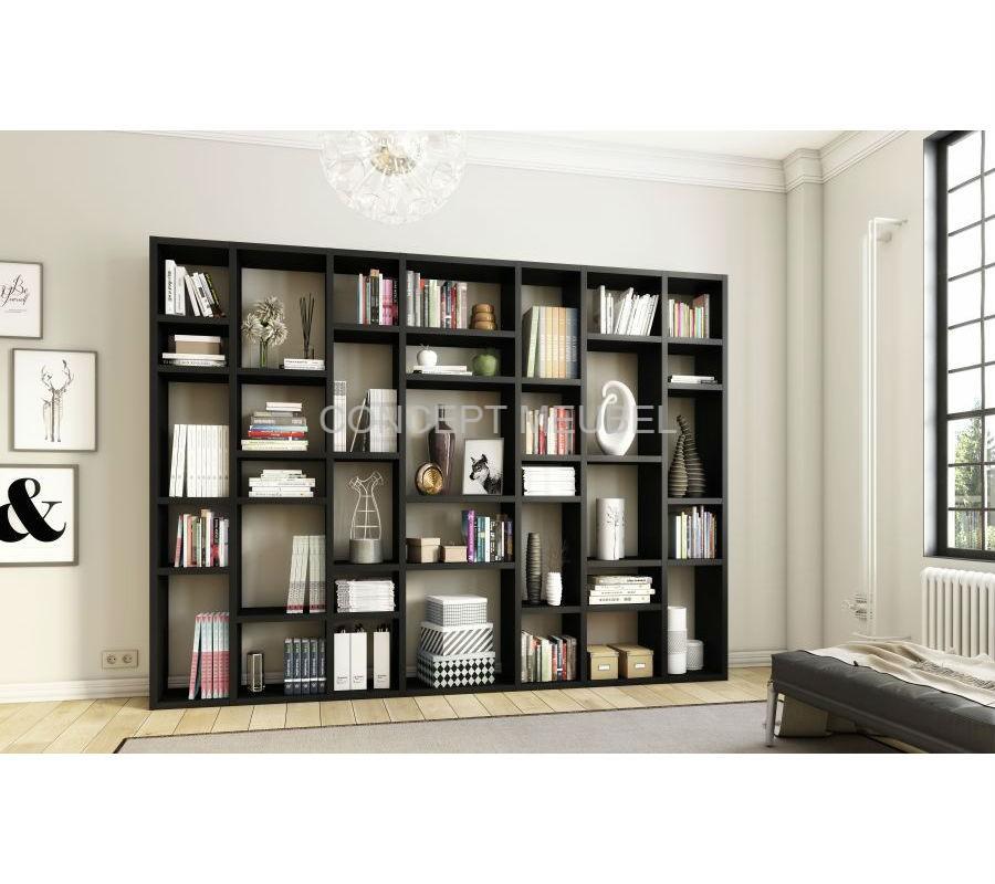 Concept Meubel wandmeubel / boekenkast op maat Bergamo