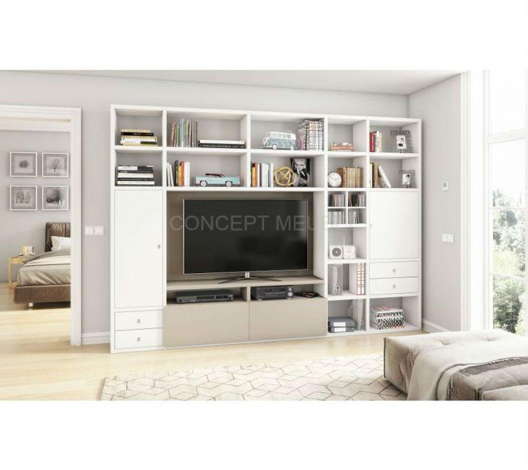 Concept Meubel wandmeubel / tv-meubel op maat Lyon