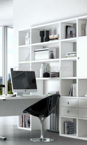 Concept Meubel wandmeubel met bureau op maat