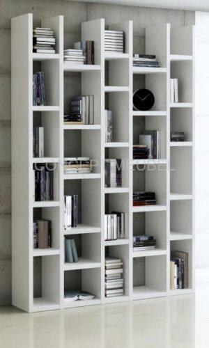 Concept Meubel boekenkast op maat Parijs