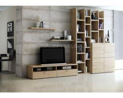 Concept Meubel tv-meubel / boekenkast op maat